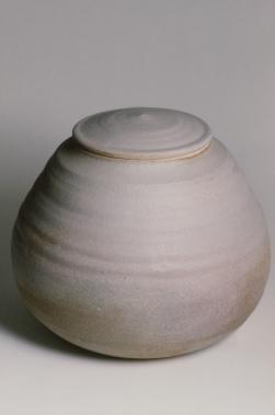 ash glazed jar